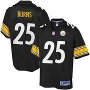 Artie Burns Pittsburgh Steelers NFL Pro Line Player Jersey -...