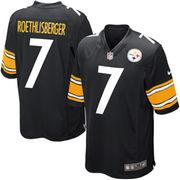 Ben Roethlisberger Pittsburgh Steelers Nike Game Jersey - Black