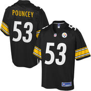 Men's Pittsburgh Steelers Maurkice Pouncey NFL Pro Line Team Color...
