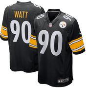 T.J. Watt Pittsburgh Steelers Nike 2017 Draft Pick Game Jersey...