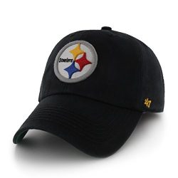 NFL-Pittsburgh-Steelers-47-Franchise-Fitted-Hat-Black-Large-0